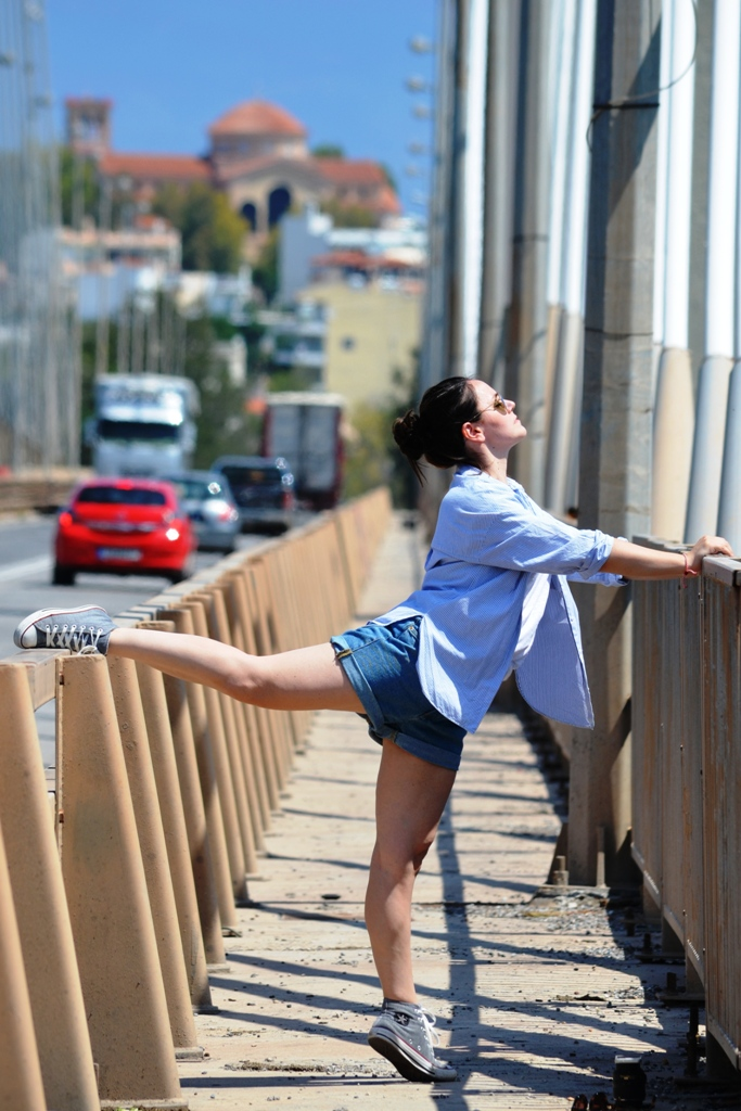 StreetDancePhotography@CentralBallet (Chalkida Suspension Bridge)